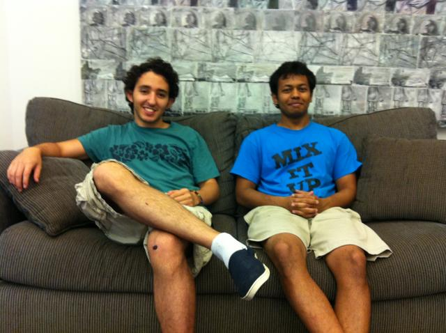 Roberto Segebre '12 and Avi Das '12