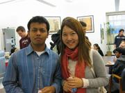 Avi Das '12 and Kate Byun '12