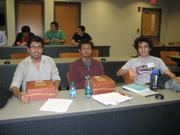 Colgate CS students compete in ACM programming competition programming competition