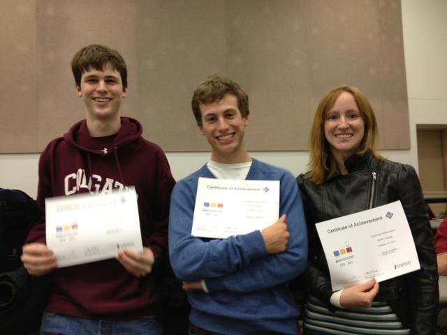 Students compete in programming competition