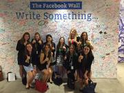 WiCS visiting Facebook in NYC.