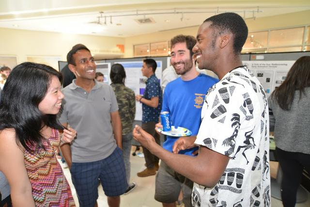 Students win distinction at Summer Research Poster Session