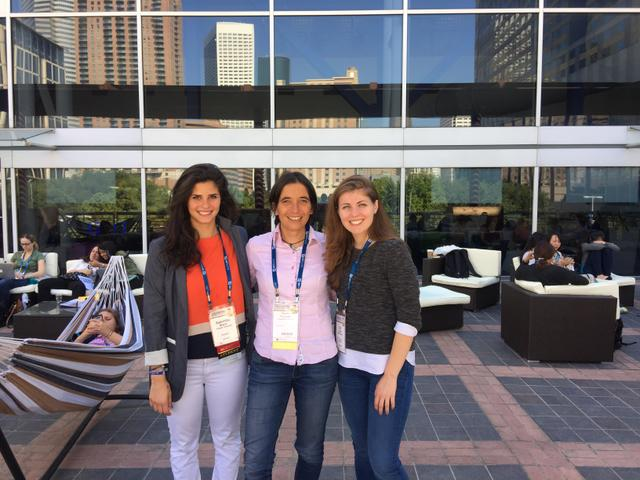 Four students attend 2015 Grace Hopper conference