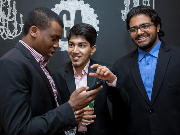 CS students participate in business accelerator