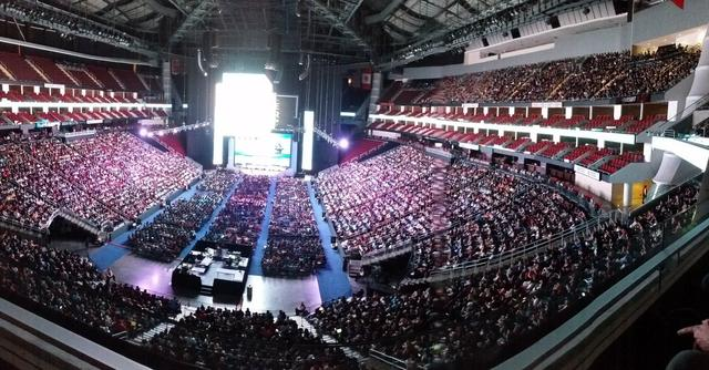 Nearly 15,000 people attended the 2016 Grace Hopper Celebration in Houston, TX.