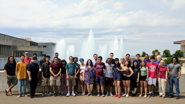 Summer research students and faculty visit Ithaca College
